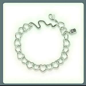 James Avery🆕Connected Hearts Charm Bracelet